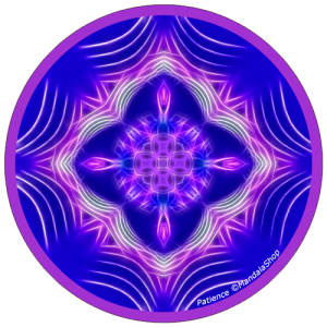 Harmonizing platter Mandala of Patience