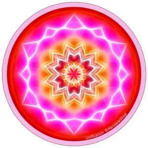 Disque harmonisant Mandala de l'Unification