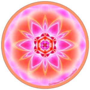 Disque harmonisant Mandala de la Quintessence