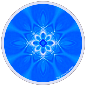 Harmonizing platter Mandala of Joy