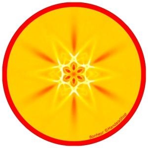 Disque harmonisant Mandala du Bonheur