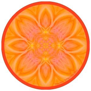Harmonizing platter Mandala of Gentleness