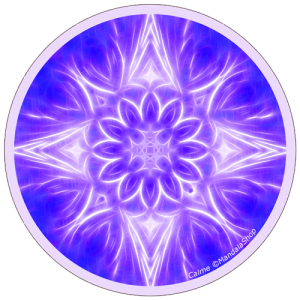 Harmonizing platter Mandala of Calm