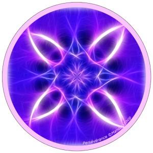 Disque harmonisant Mandala de la Persévérance