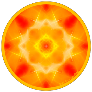 Disque harmonisant Mandala de l'Eveil