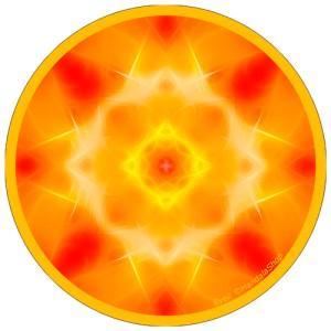 Harmonizing platter Mandala of Awakening