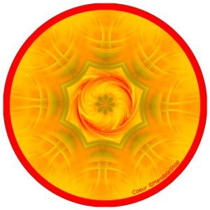 Disque harmonisant Mandala du Coeur