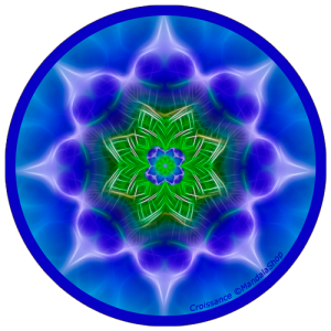 Harmonizing platter Mandala of Growth