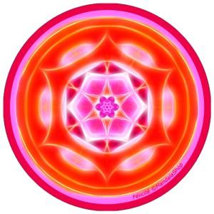 Disque harmonisant Mandala de la Félicité