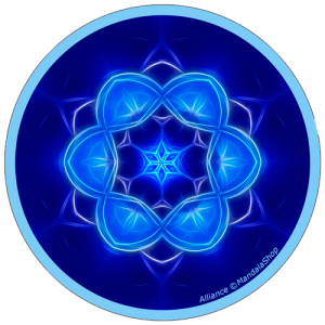 Harmonizing platter Mandala of Alliance