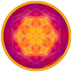 Disque harmonisant Mandala de la Sagesse