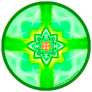 Harmonizing platter Mandala of Balance