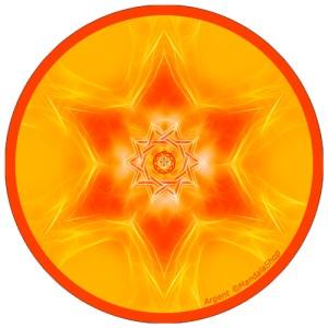Disque harmonisant Mandala de l'Argent
