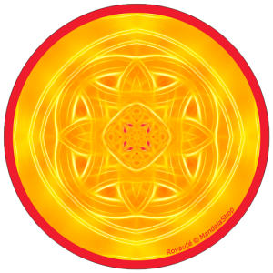 Disque harmonisant Mandala de la Royauté