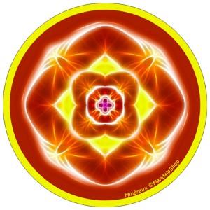 Disque harmonisant Mandala des Minéraux