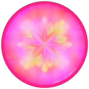 Disque harmonisant Mandala Source de Bonheur et d'Enthousiasme