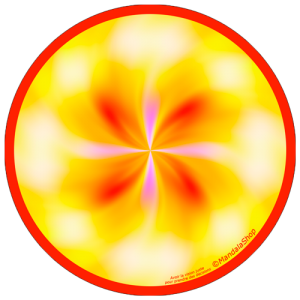 Disque harmonisant Mandala Vision juste