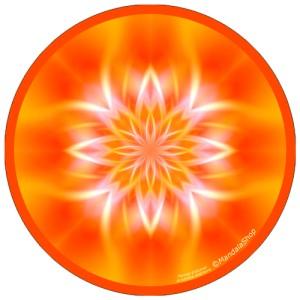 Disque harmonisant Mandala Lumière intérieure