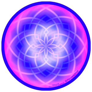 Harmonizing platter Mandala that helps to go through trials