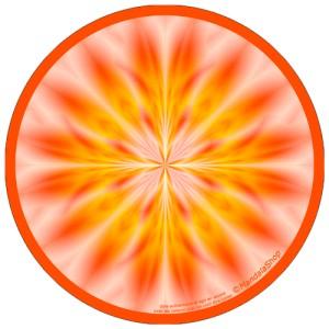 Harmonizing platter Mandala Being Genuine