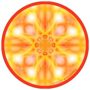 Harmonizing platter Mandala Remaining genuine