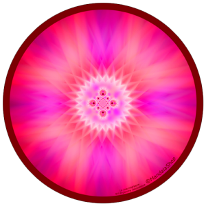 Harmonizing platter Mandala of internal Joy