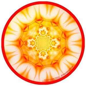 Disque harmonisant Mandala Elimine les blocages