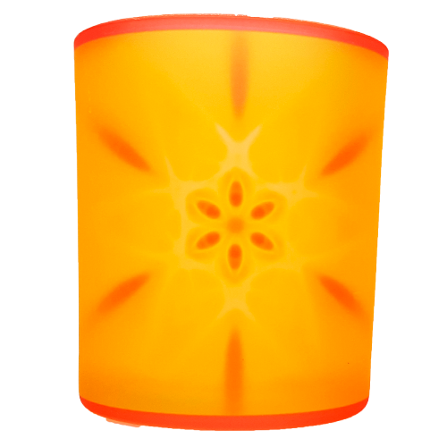 Candle holder mandala of Happiness