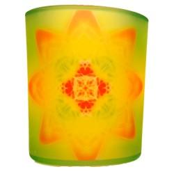 Candle holder mandala of Health