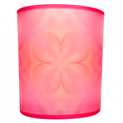 Candle holder mandala of Love