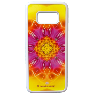 SwitchCase grip for Galaxy S8 mandala of Flowering