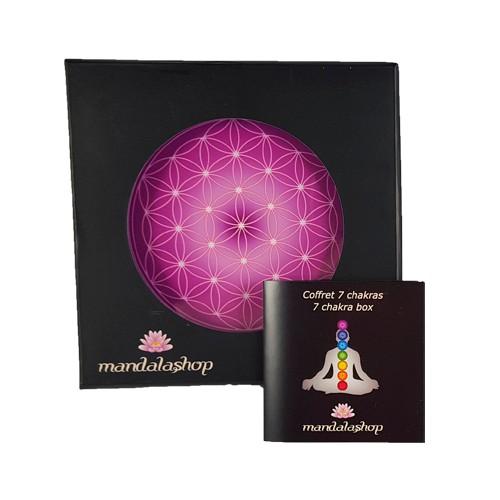 Flower of Life 7 chakra box