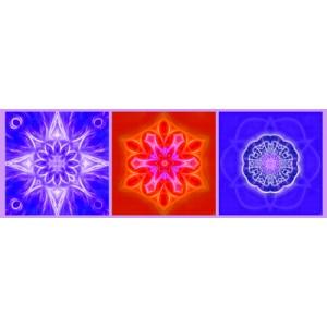 Mandala Triptych n°9