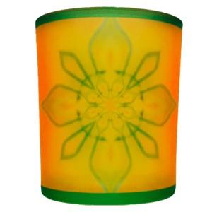Candle holder mandala of Blessing