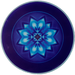 Round Energising Plate Mandala of Peace