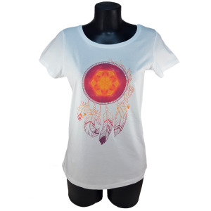 Dream catcher of Wisdom t-shirt for women