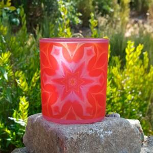Candle holder mandala of Harmony