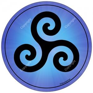 Harmonising disk Triskel
