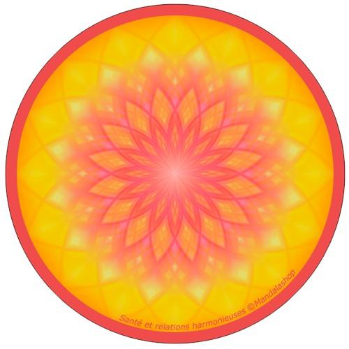 Harmonising disk Mandala Health and harmonious relations