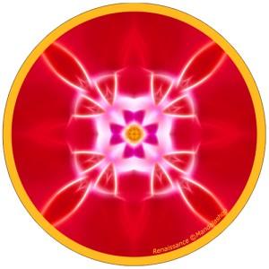 Harmonising disk Mandala of Rebirth