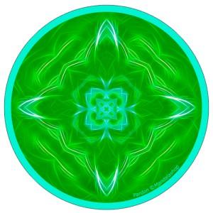Harmonising disk Mandala of Forgiveness