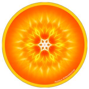 Harmonising disk Mandala of Music