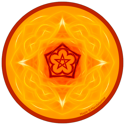 Harmonising disk Mandala of Magic