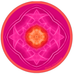 Harmonising disk Mandala of Achievement