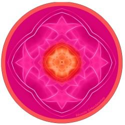 Harmonising disk Mandala of Achievement