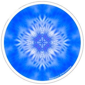 Harmonising disk Mandala of Breathing