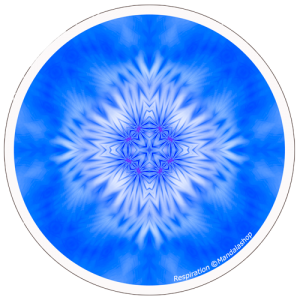 Harmonising disk Mandala of Breathing