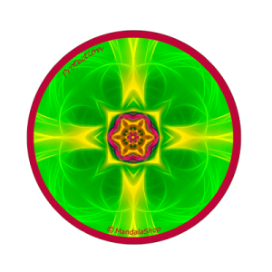 Round magnet mandala of Protection