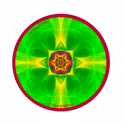 Round magnet mandala of Protection