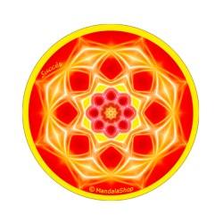 Round magnet mandala of Success